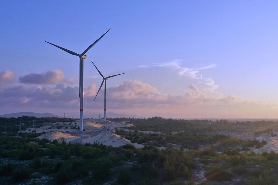 Check-in cánh đồng điện gió Phương Mai đẹp như tranh vẽ khi du lịch  Quy Nhơn